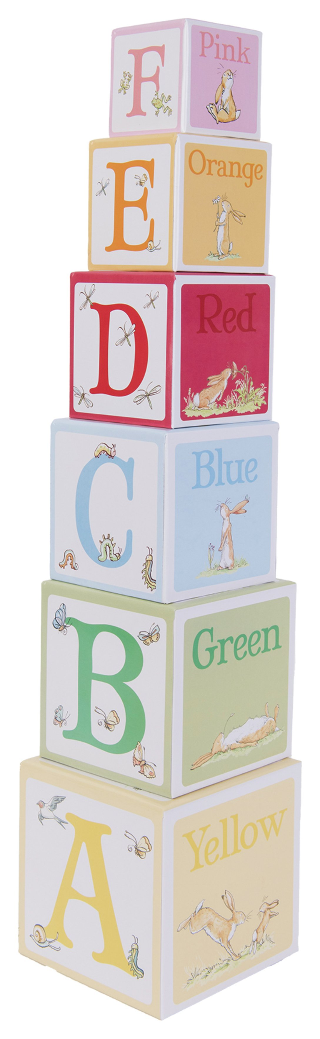 Image of Guess How Much I Love You Stacking Blocks.