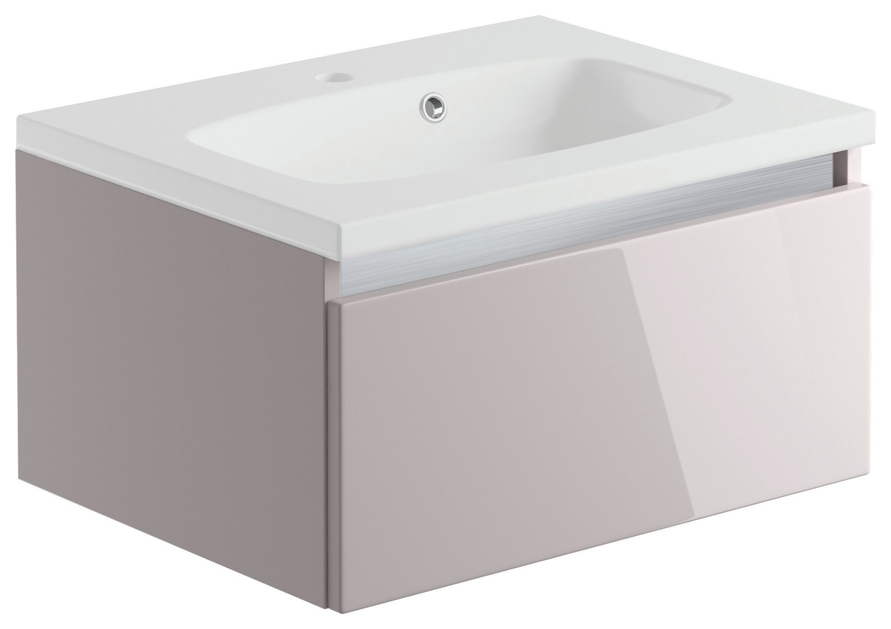 Lavari 1 Drawer Undersink Unit - Cashmere
