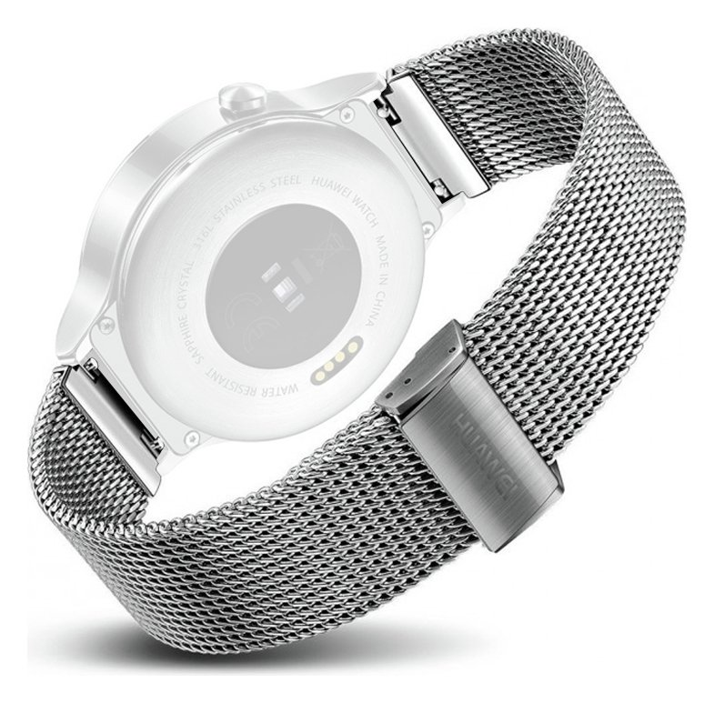 huawei w1. huawei w1 smart watch- stainless steel mesh strap