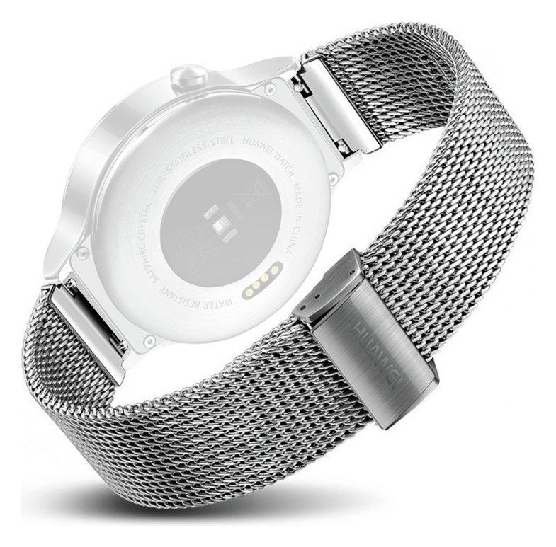 huawei w1. huawei w1 smart watch- stainless steel mesh strap