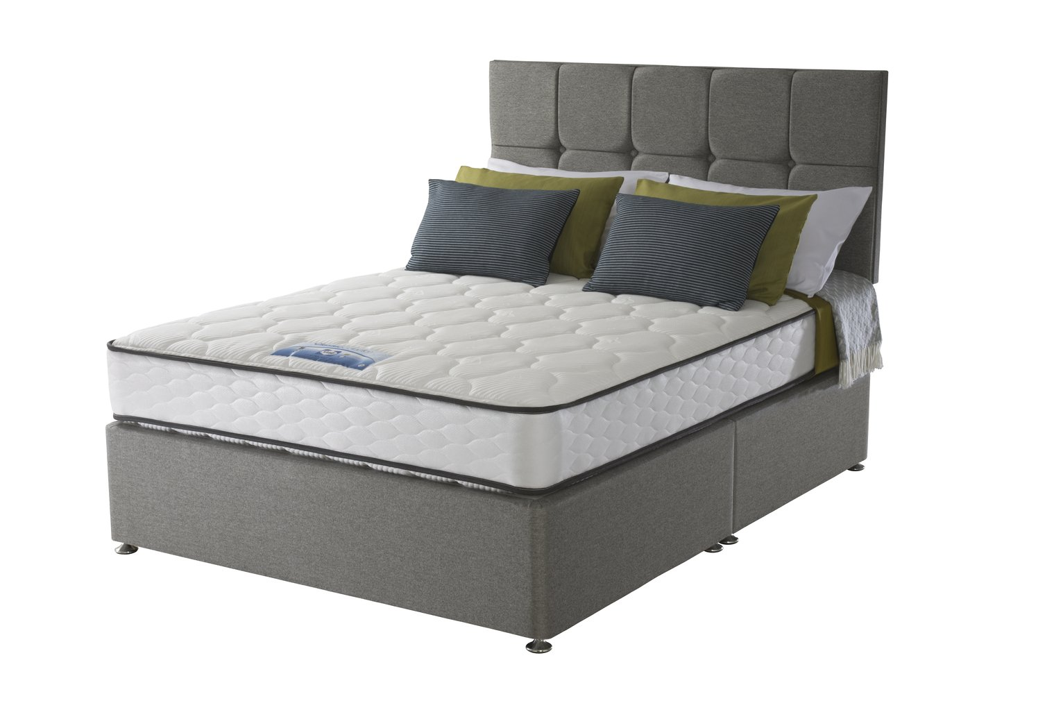 Sealy 1400 Pocket Microquilt Kingsize Divan