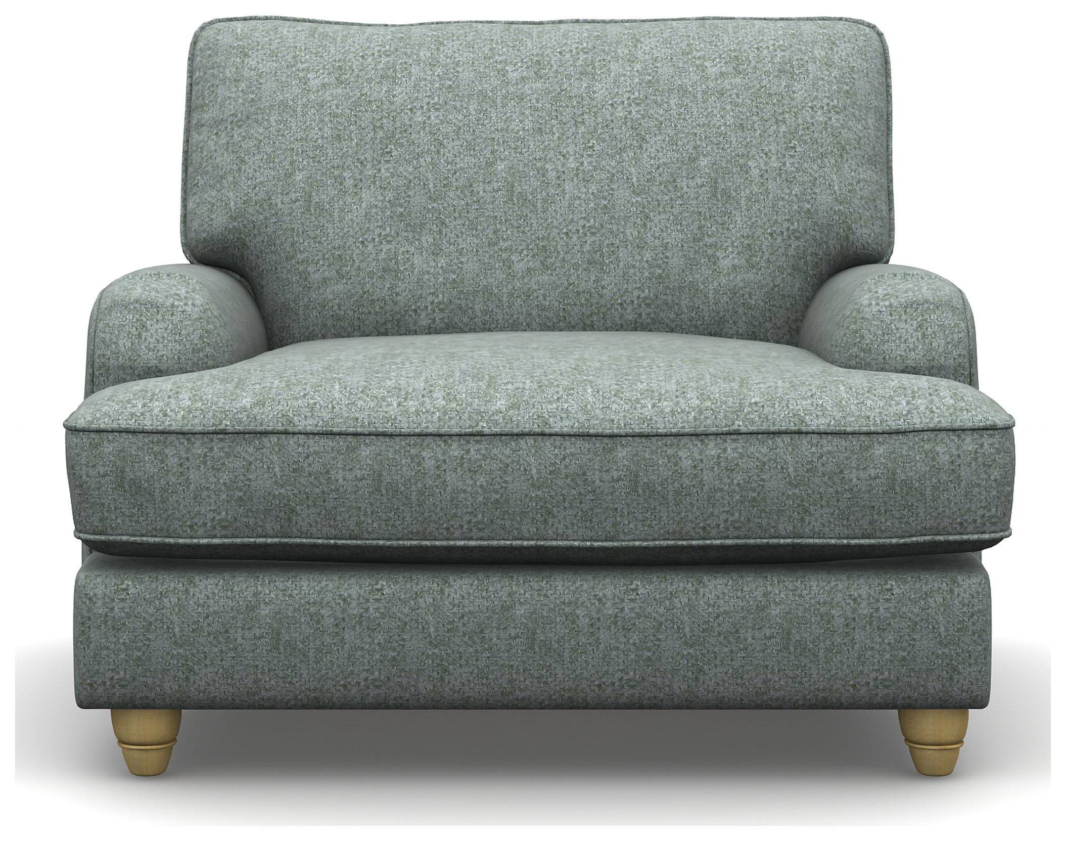 Heart of House Adeline Duck Egg Tweed Fabric Chair