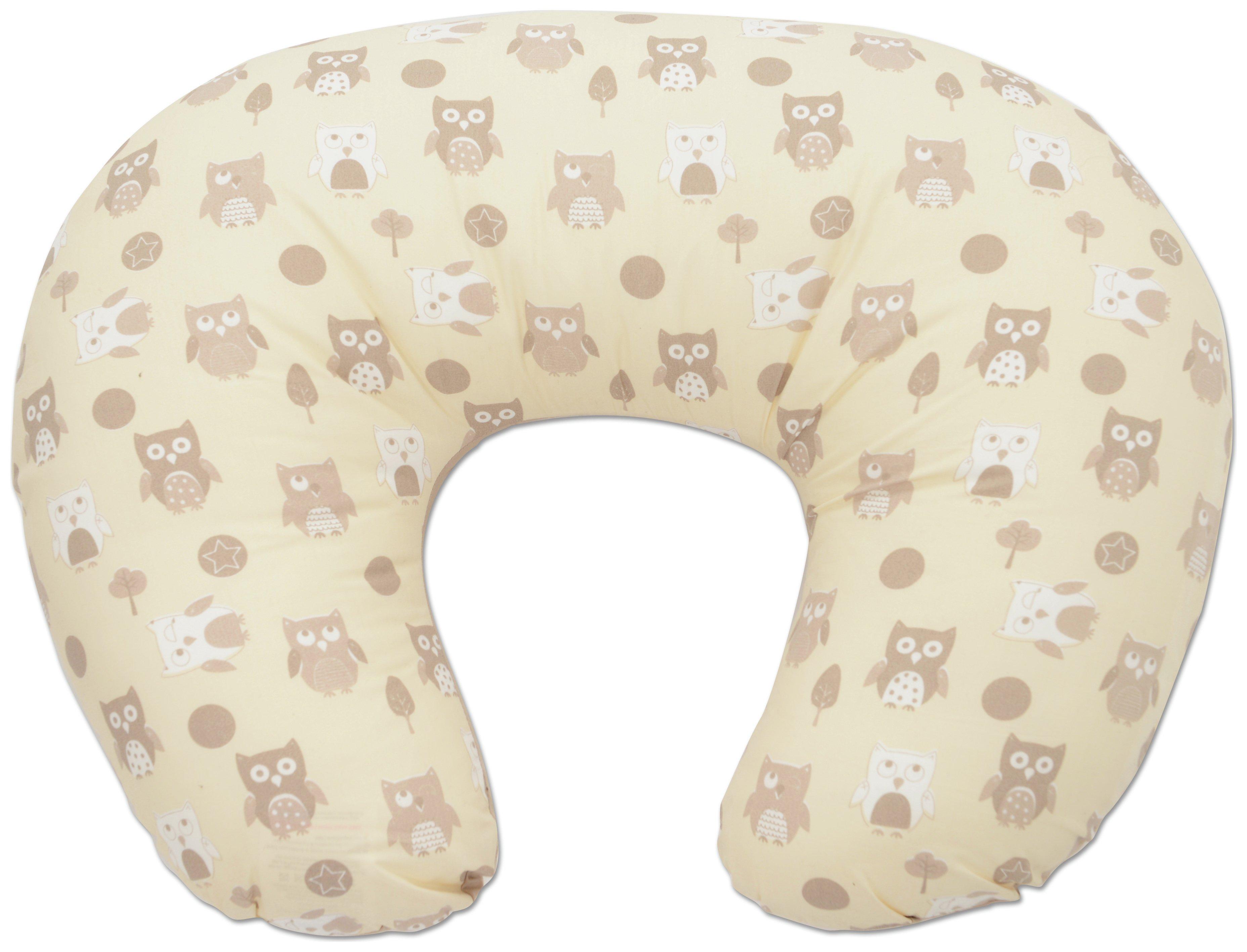 Image of Dreamgenii - Donut Owl - Breast Feeding Pillow - Neutral