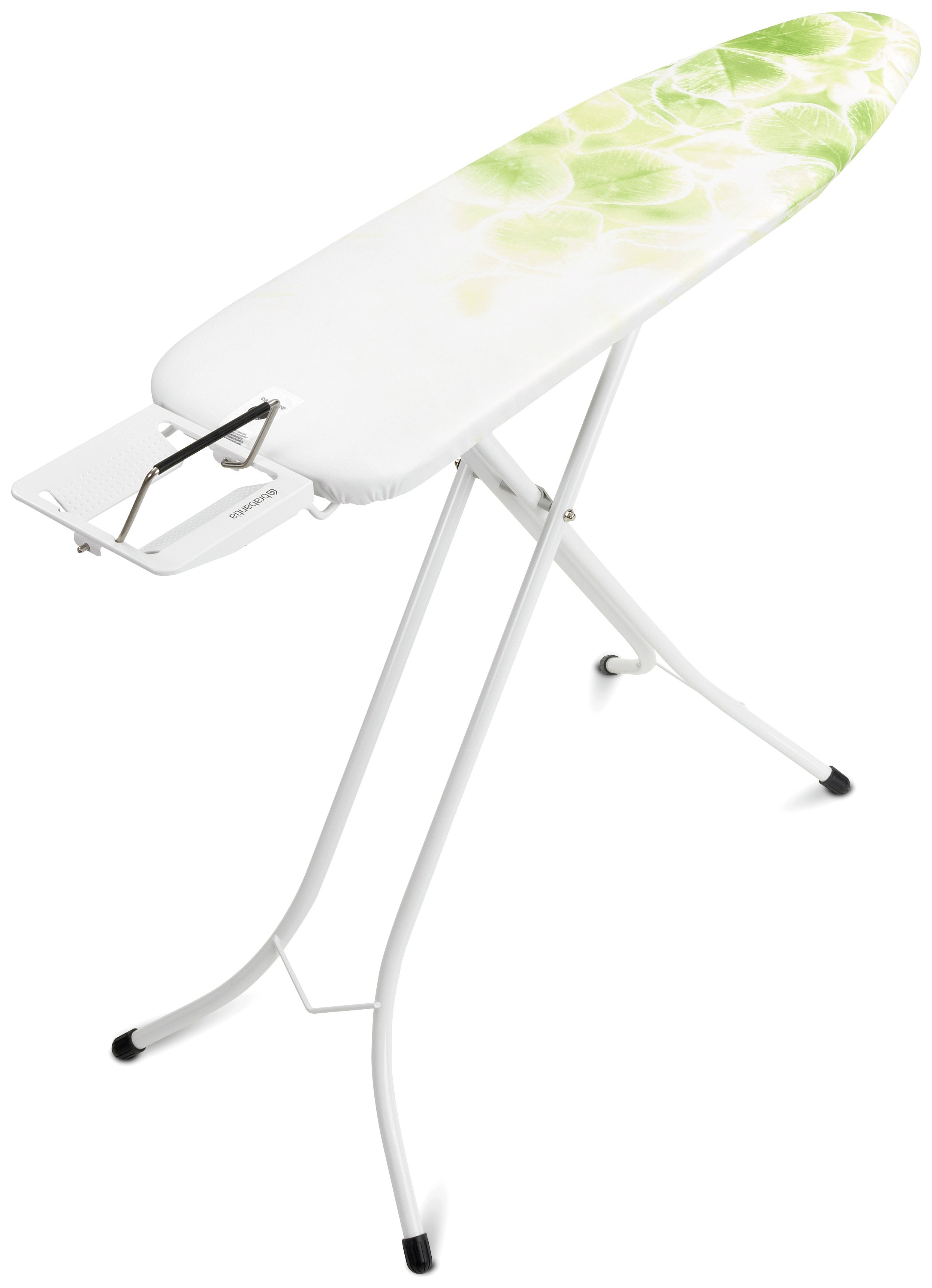 Image of Brabantia 110 x 30cm Ironing Board - Leaf Cotton.