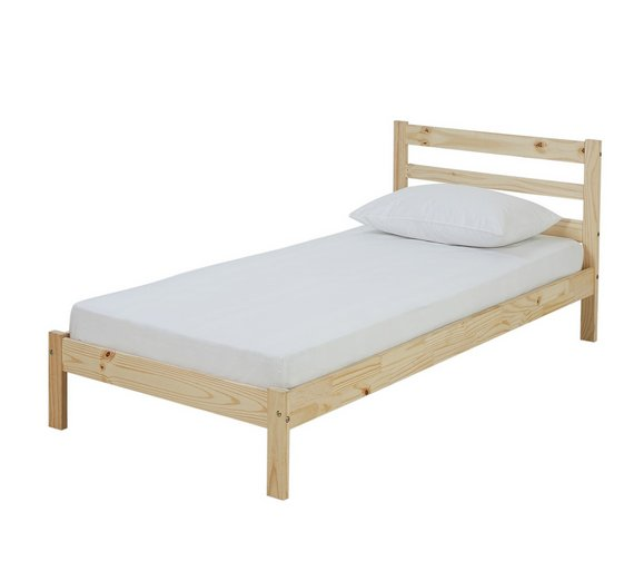 home wicklow pine bed frame single6547684 - Pine Bed Frame