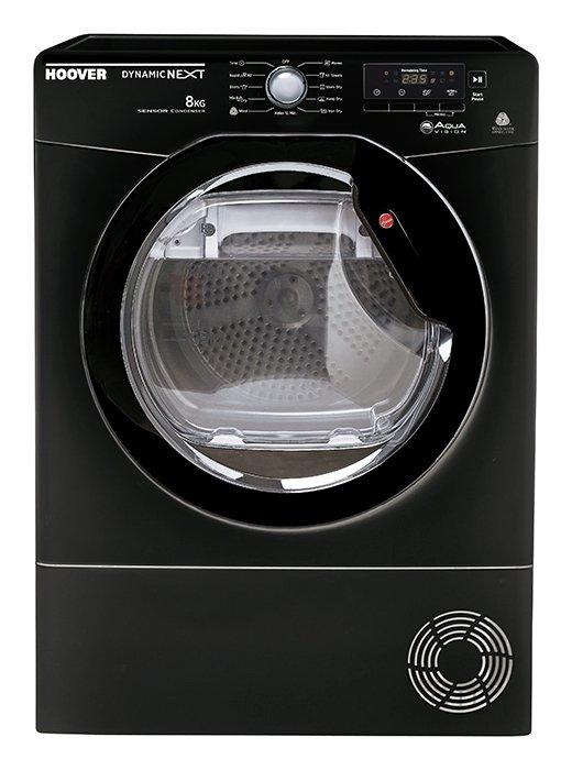 Hoover DNCD91BB 9KG Condenser Tumble Dryer - Black.