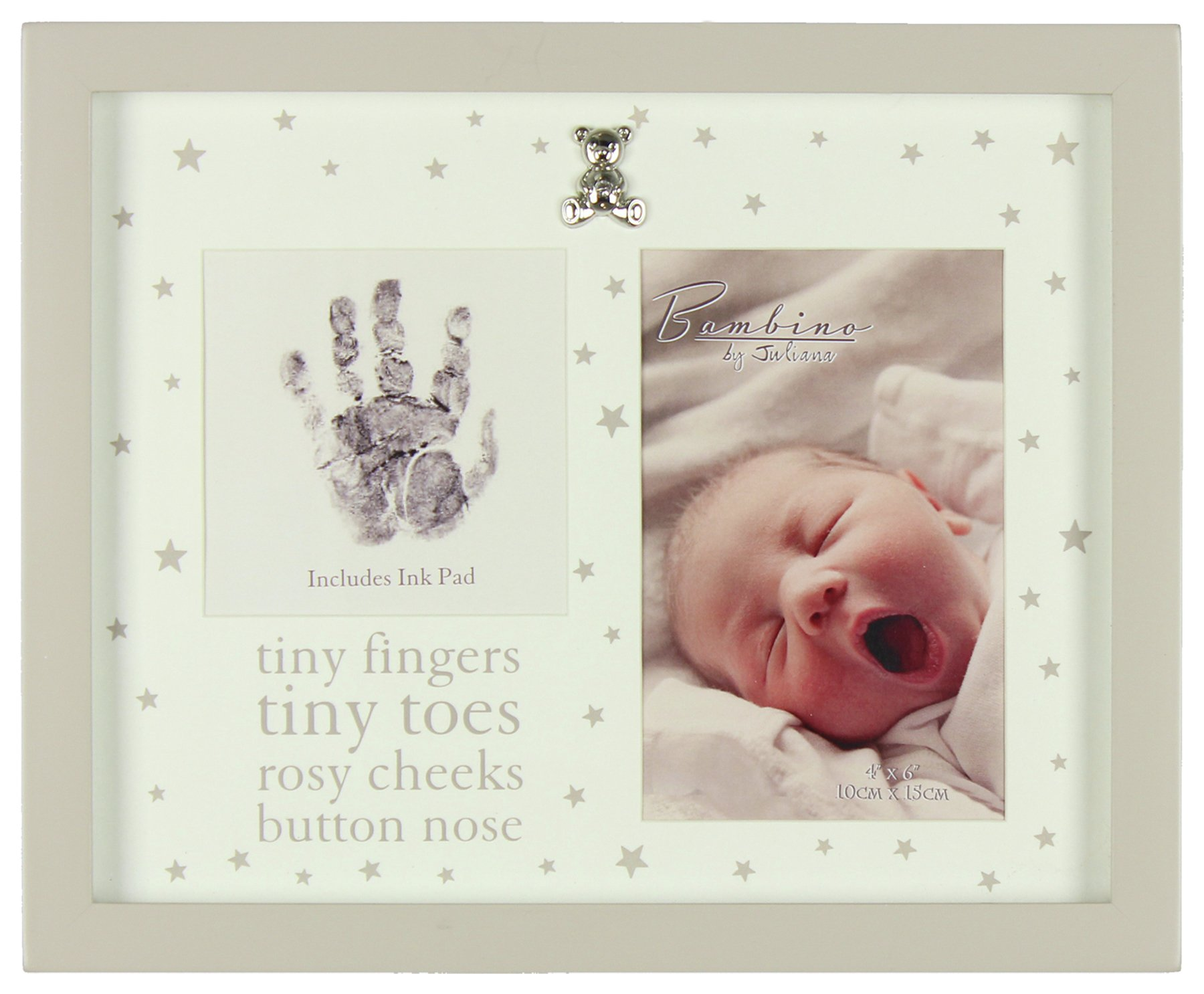 Image of Bambino Hand Print and Photo Frame