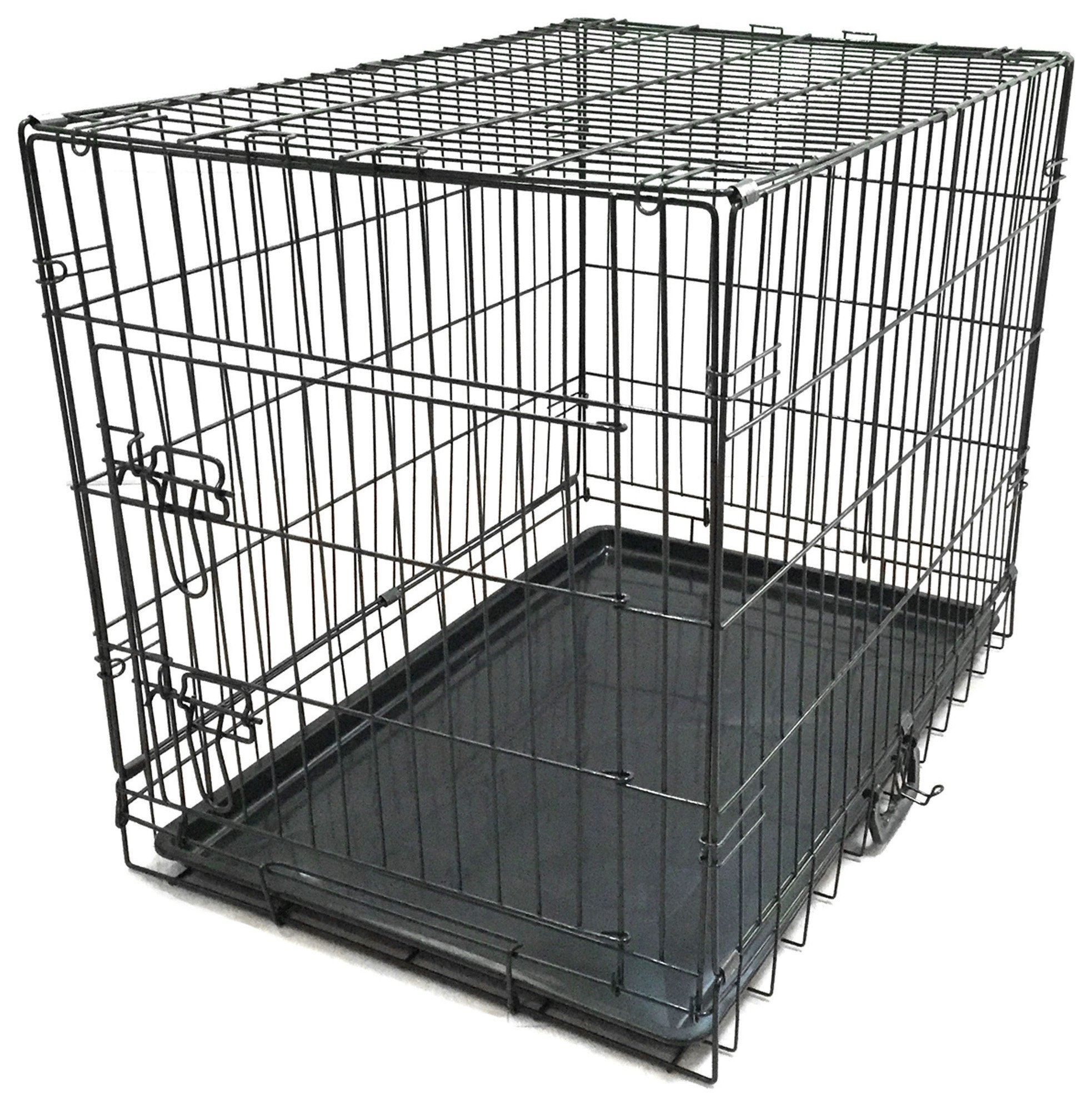 king pets single door pet cage medium review. Black Bedroom Furniture Sets. Home Design Ideas