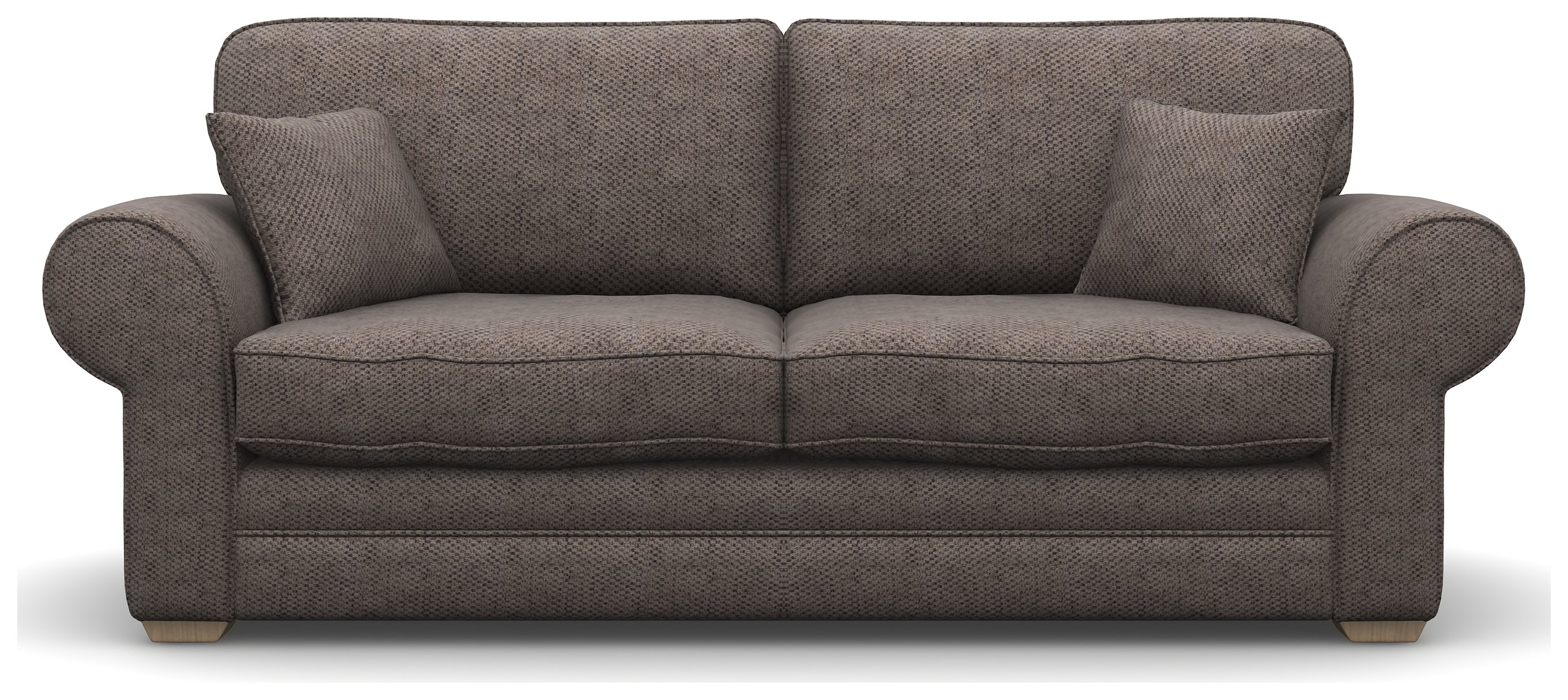 Heart of House Chedworth 3 Seater Fabric Sofa - Natural