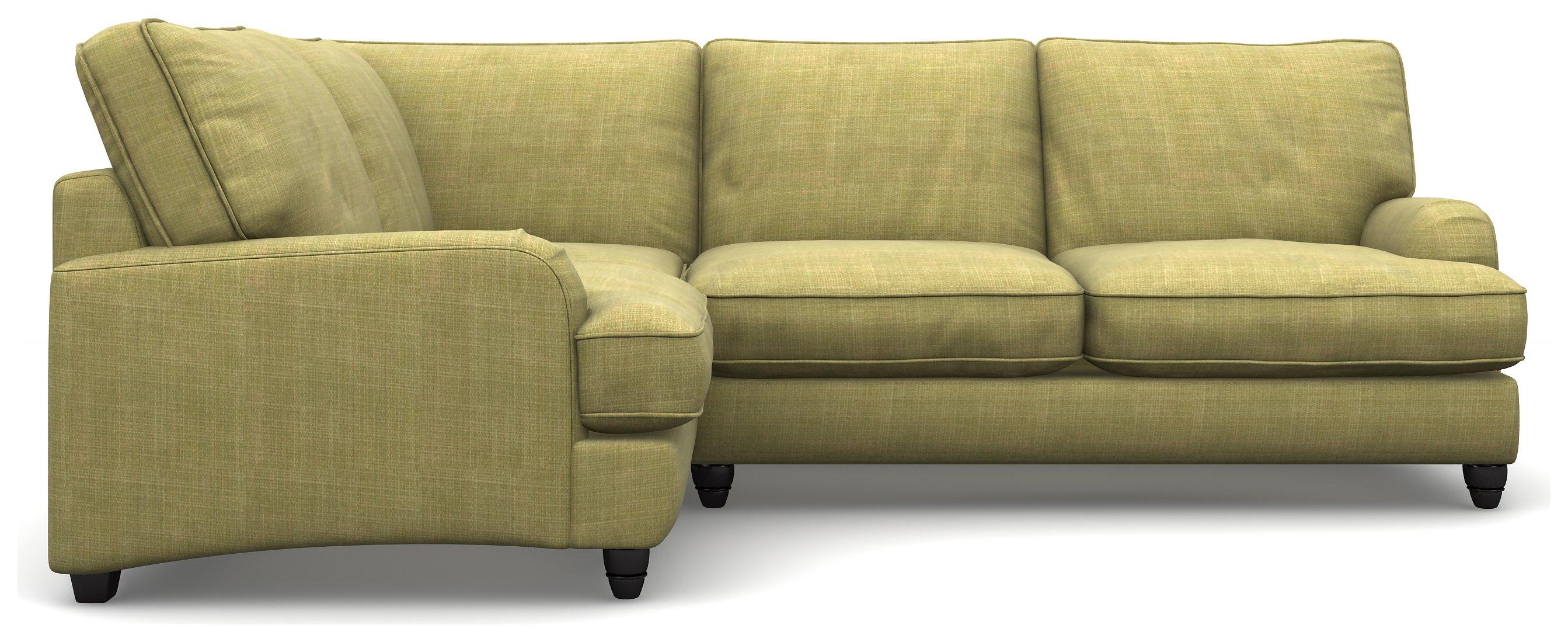 Heart of House Adeline Fabric LH Corner Sofa - Olive