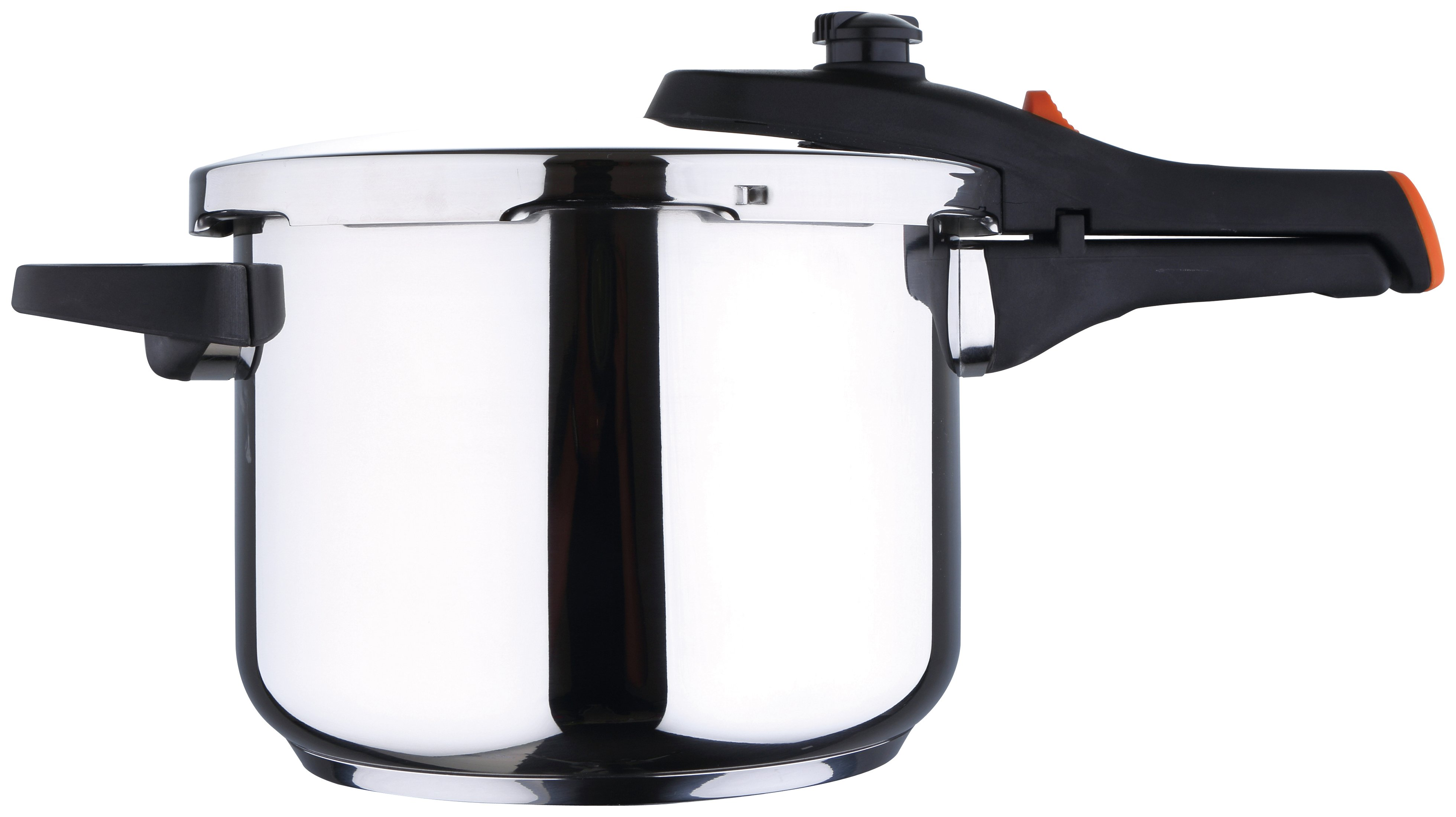 Image of Chef Sauce 6 Litre Stainless Steel Pressure Cooker.