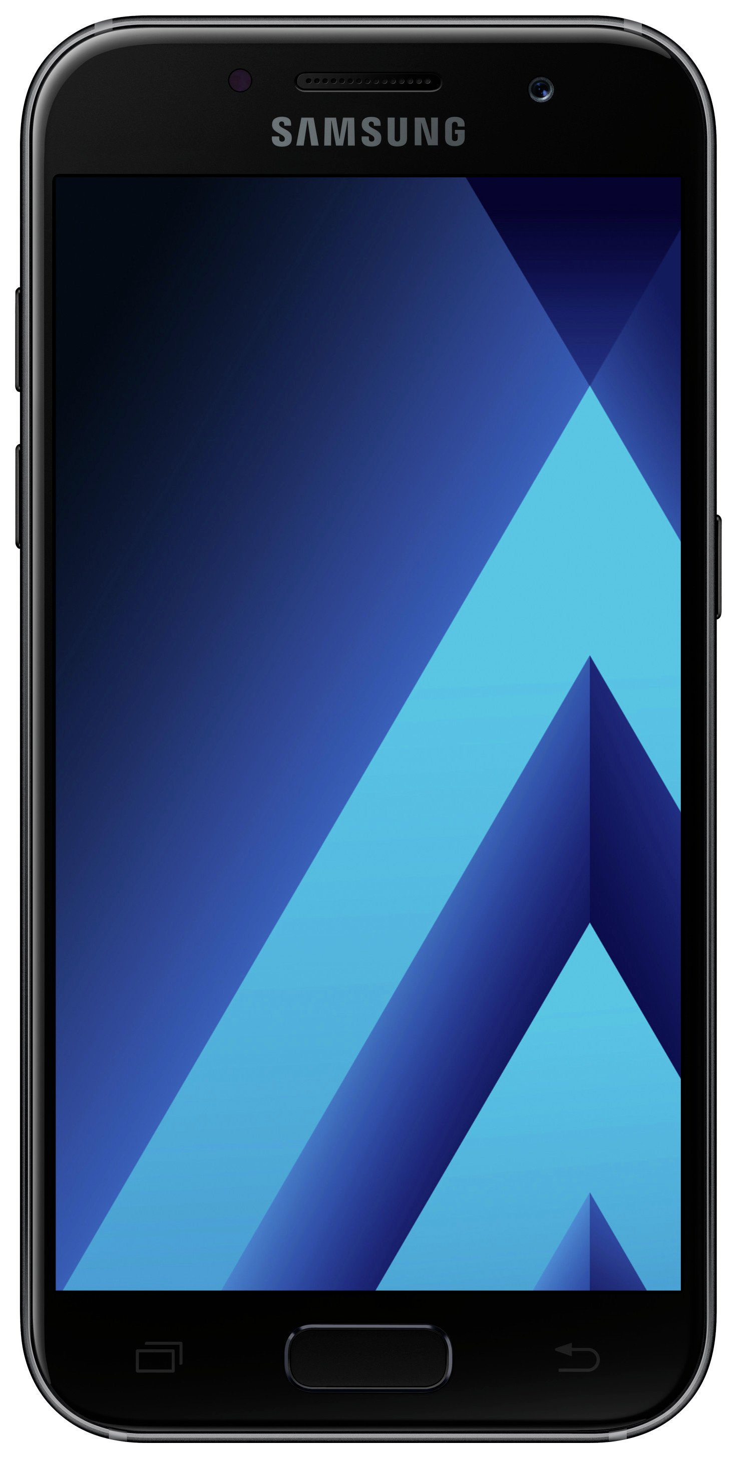 samsung phones 2017. sim free samsung a3 2017 mobile phone - black phones