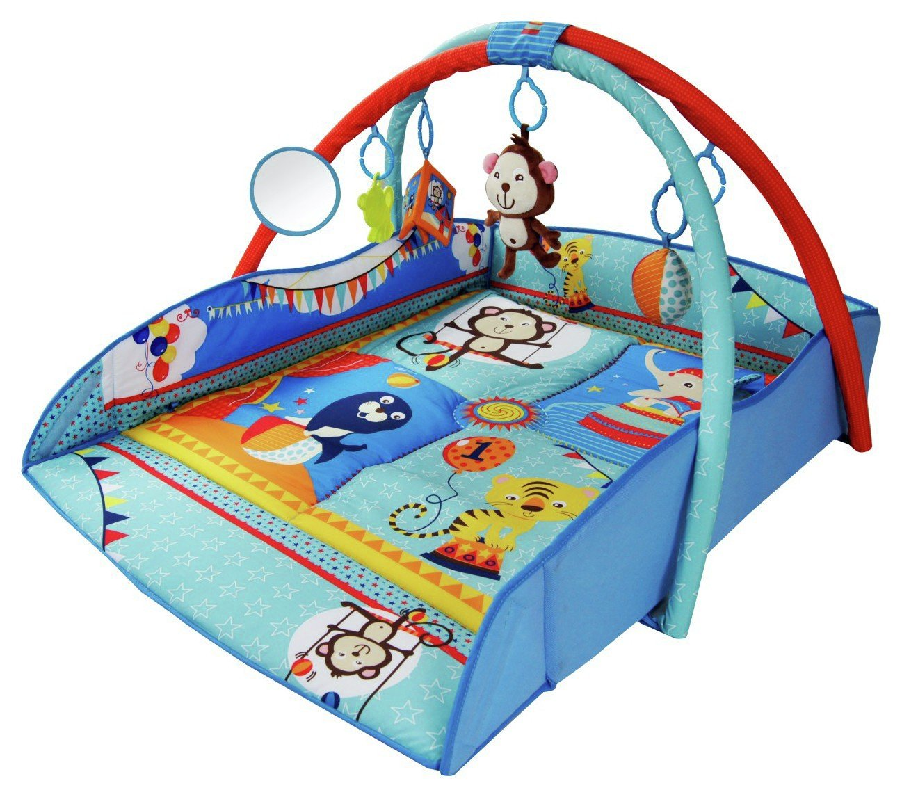 Image of BeBe Style 4 in 1 Animal World Playmat - Large.