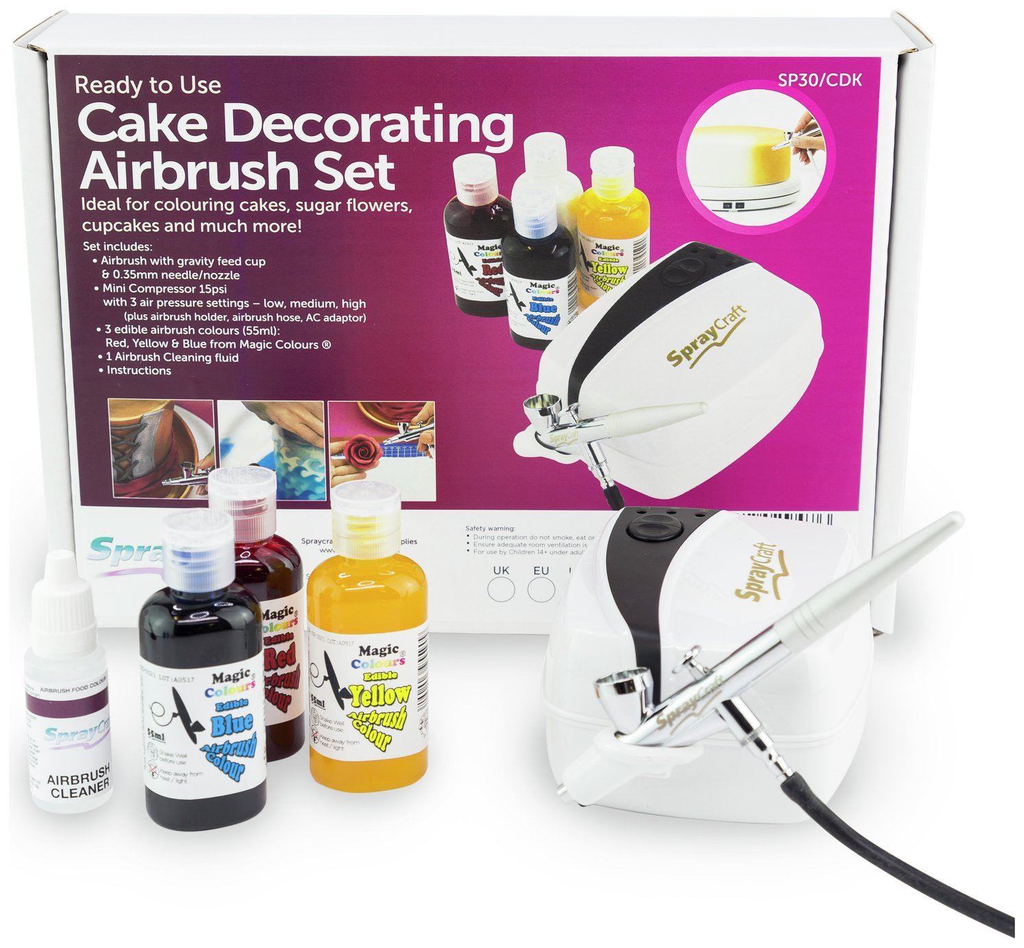 Image of Cassie Brown - Cake Decorating Airbrush Kit