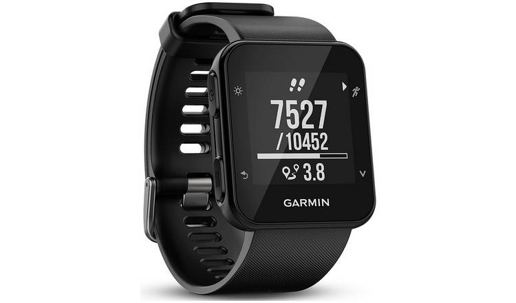 53856334e6ab68 Buy Garmin Forerunner 35 Running Heart Rate Watch - Black | Fitness ...