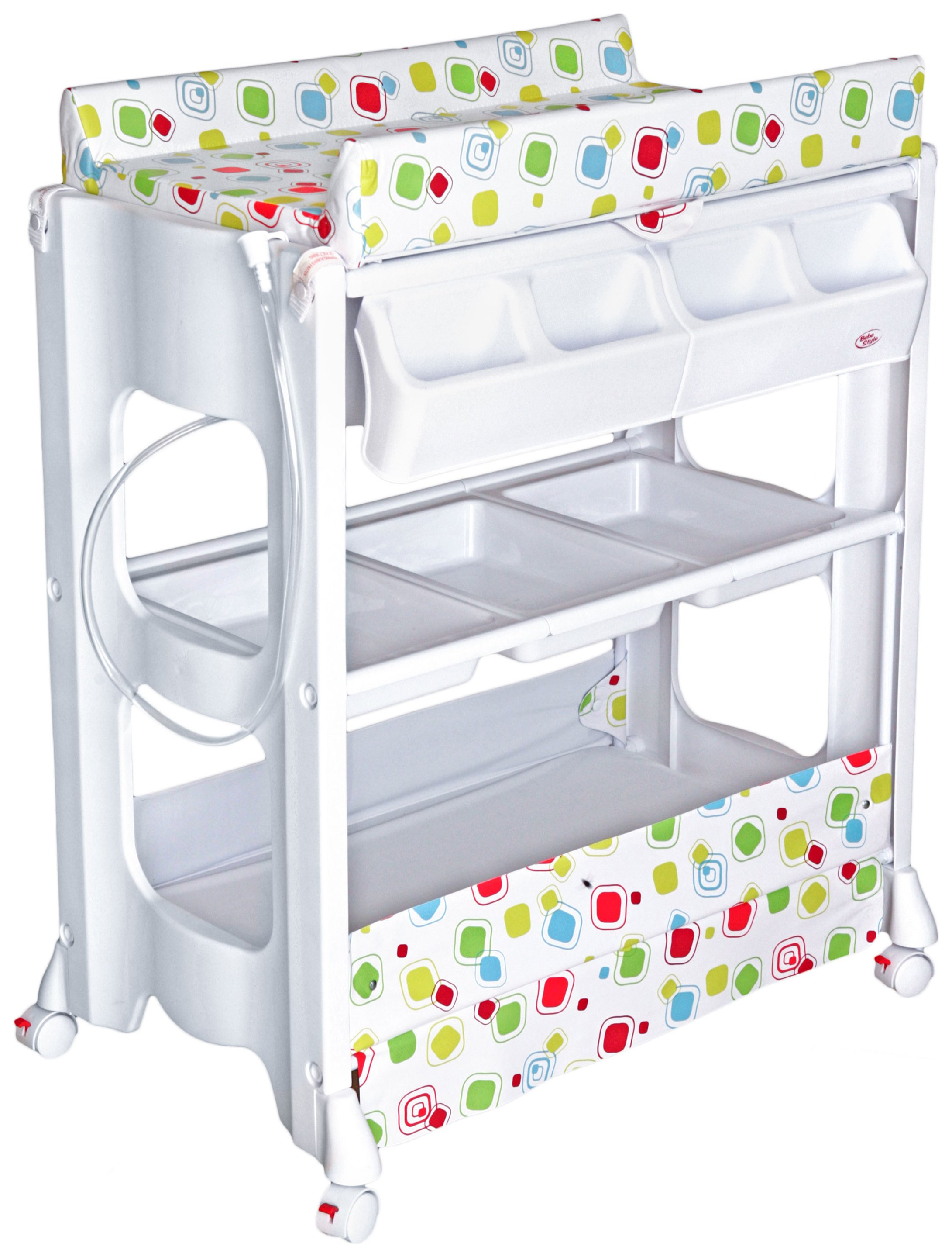 Image of BeBe Style Baby Portable Changer Unit & Bath.