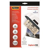 Fellowes A4 Gloss Laminating Pouches - 25 Pack