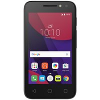 EE Alcatel Pixi 4 4 Inch Mobile Phone - Black