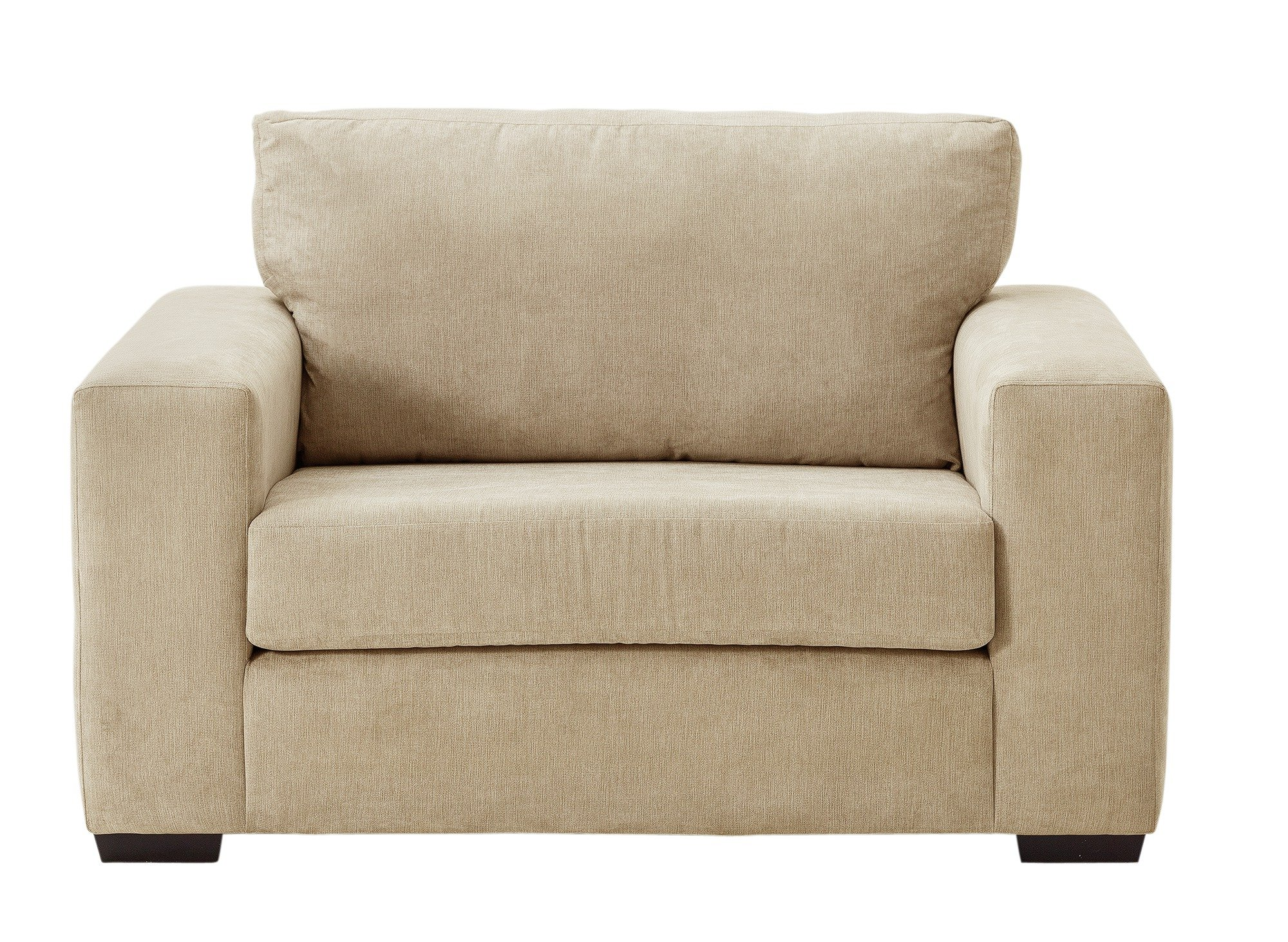 Heart of House Eton Fabric Cuddle Chair - Mink