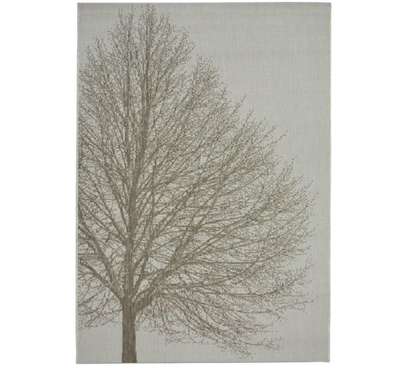 Fabulous Buy County Tree Rug - 120x170cm - Natural | Rugs and mats | Argos IC63