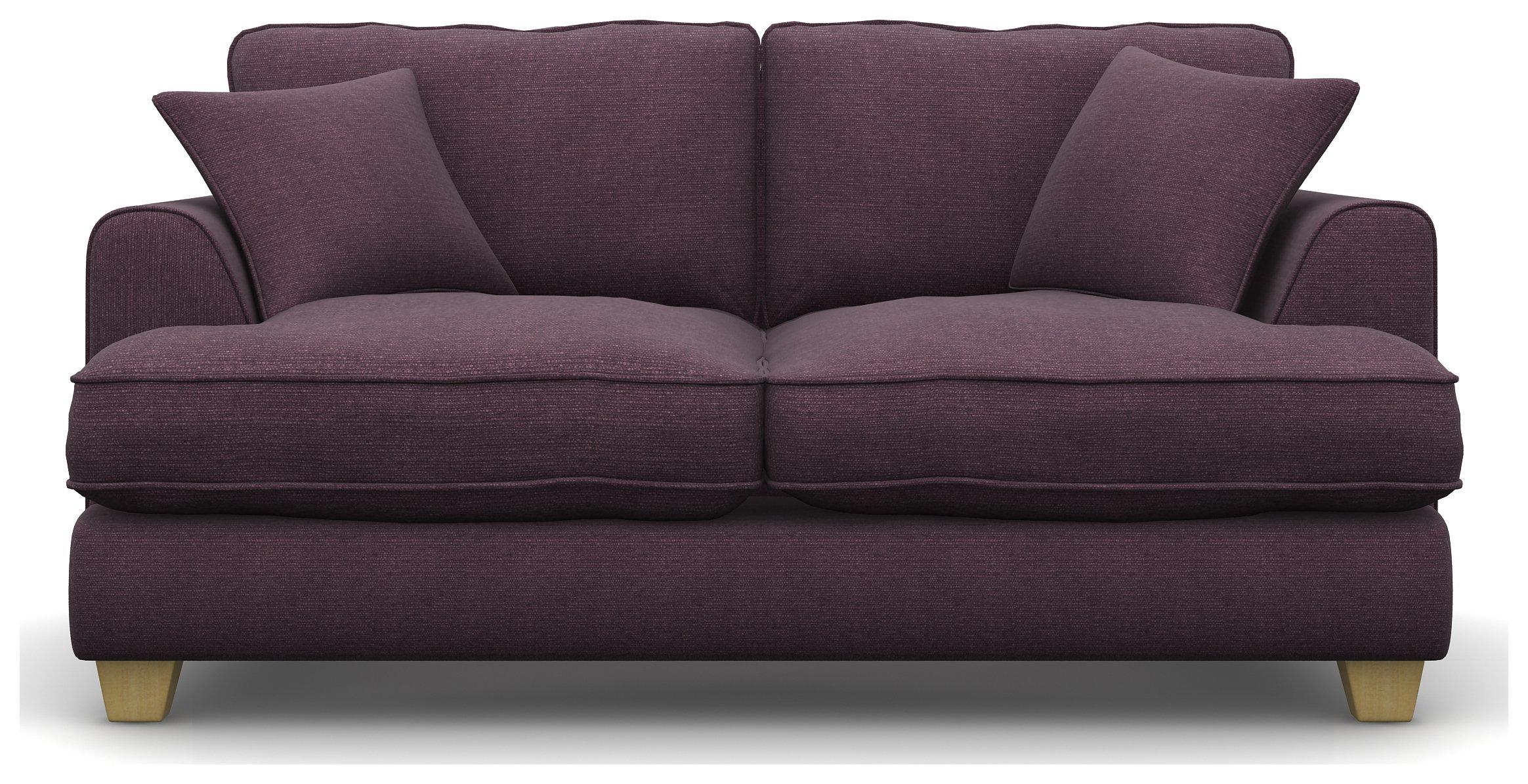 Heart of House Hampstead 2 Seater Fabric Sofa - Mushroom.