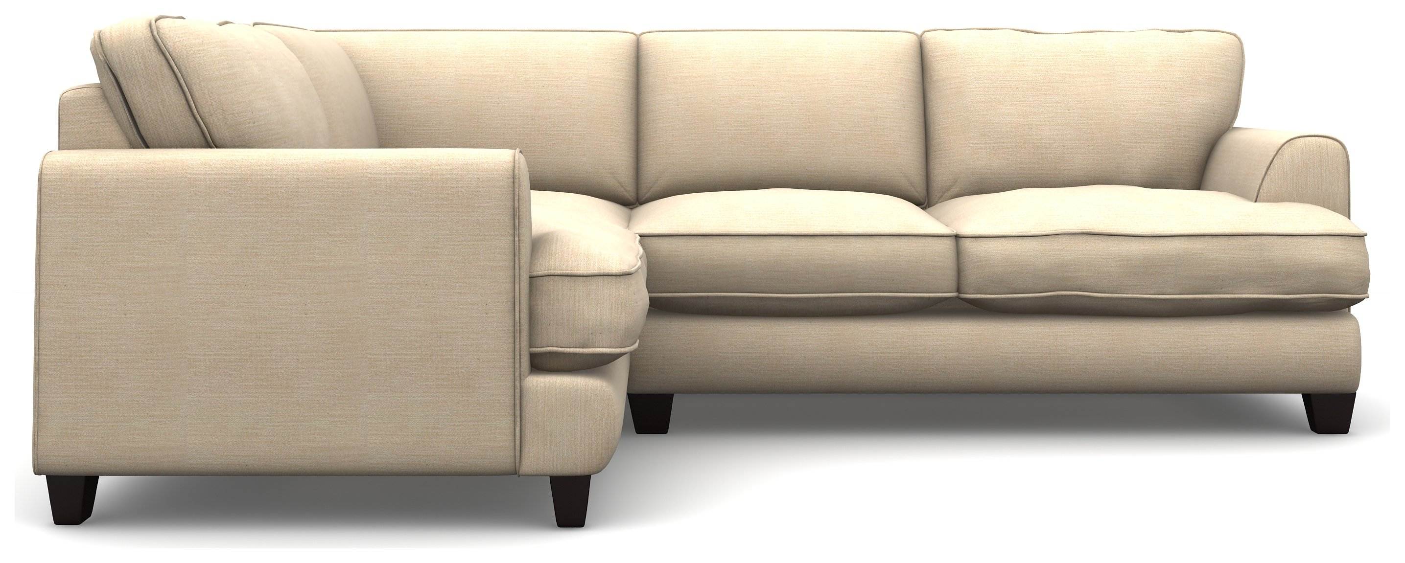 Argos Home Hampstead Left Corner Fabric Sofa - Beige