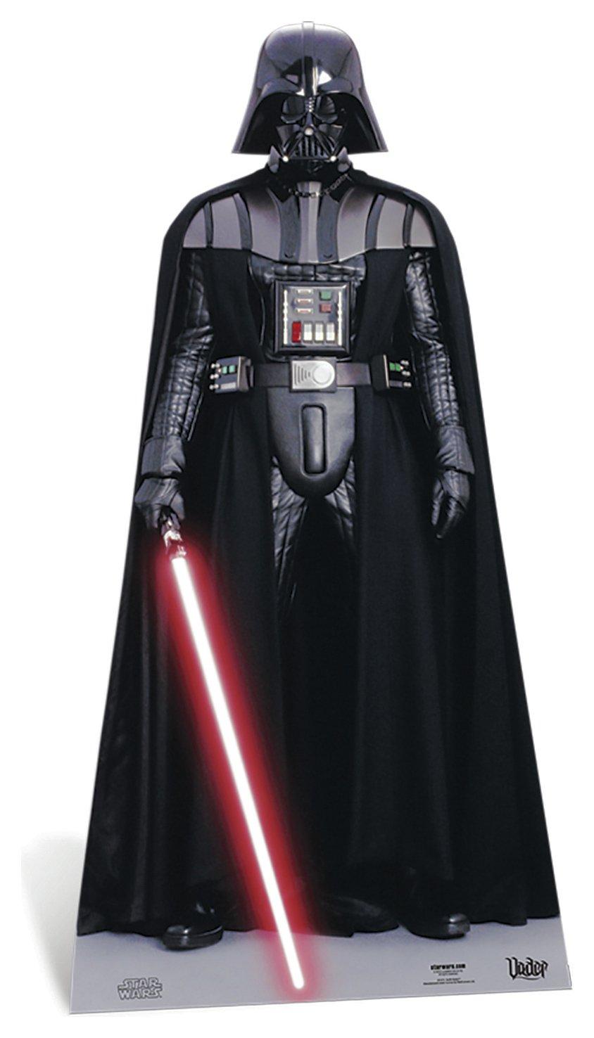 Image of Star Cutouts Star Wars Darth Vader Cardboard Cutout