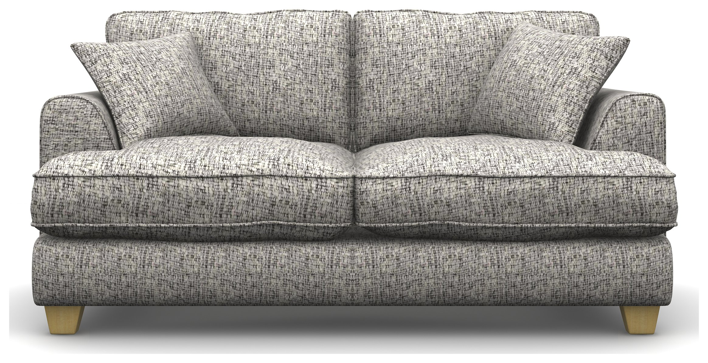 Heart of House Hampstead 2 Seat Fabric Sofa Bed - Teak.