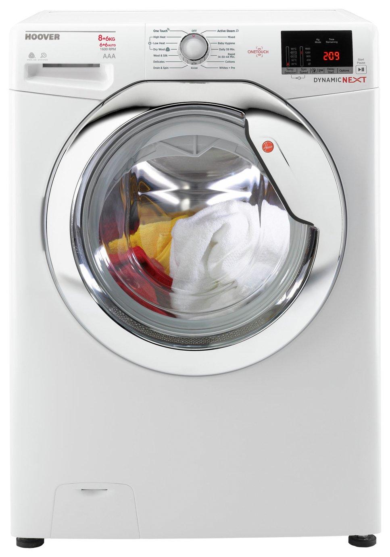 Hoover - WDXOC686CB 8KG 6KG 1600 Spin - Washer Dryer - White