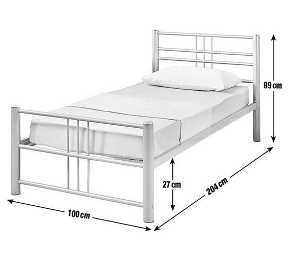 white wooden bed frame single argos. Black Bedroom Furniture Sets. Home Design Ideas