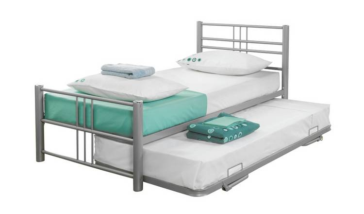 Argos Home Atlas Guest Bed - Silver
