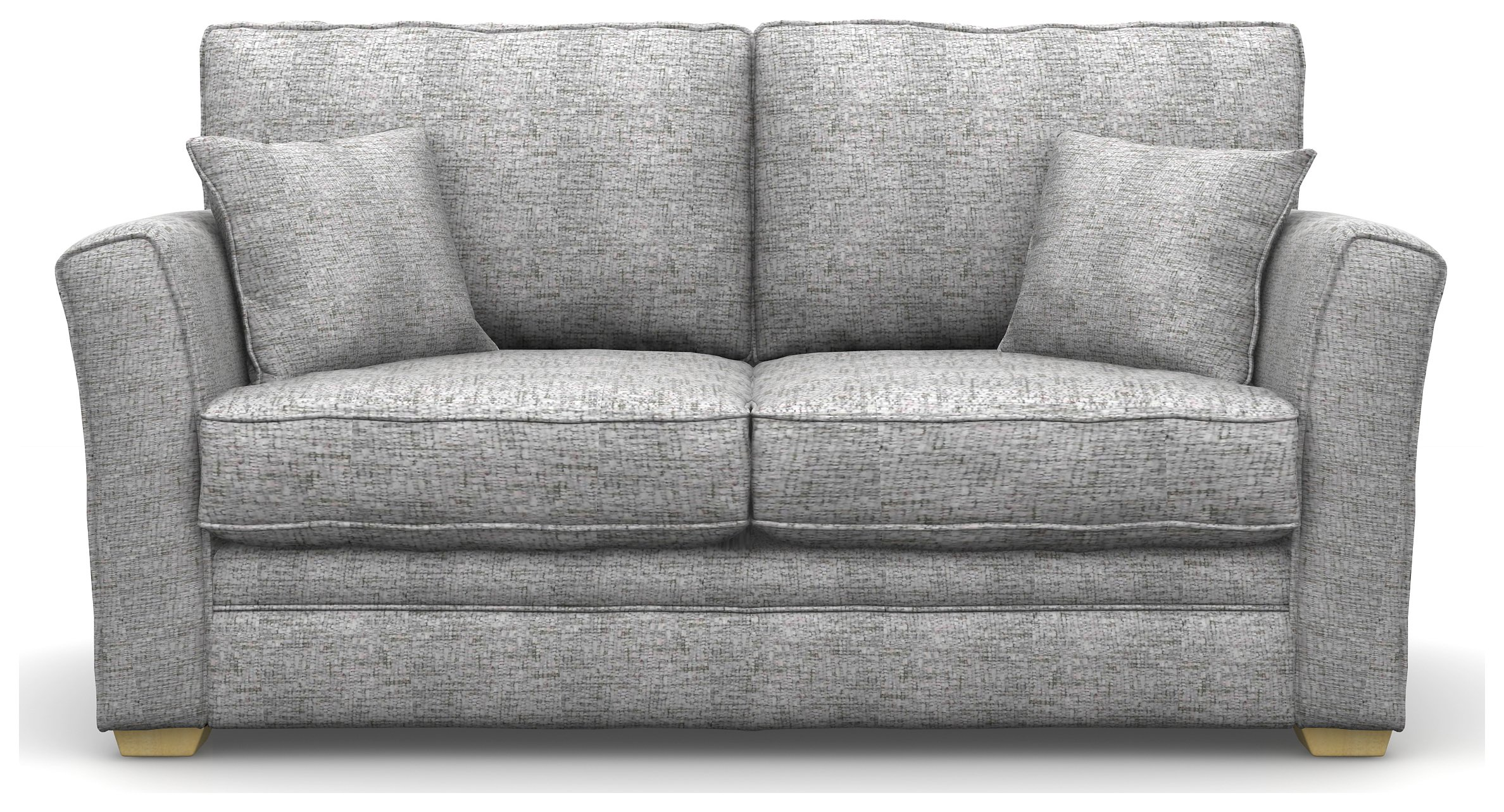Create your own Heart of House Malton 2 Seater Fabric Sofa Bed - Silver