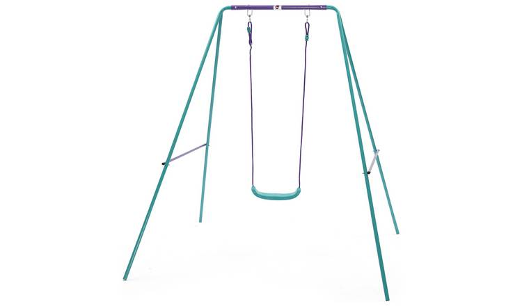 Plum Kids Garden Swing - Green and Purple