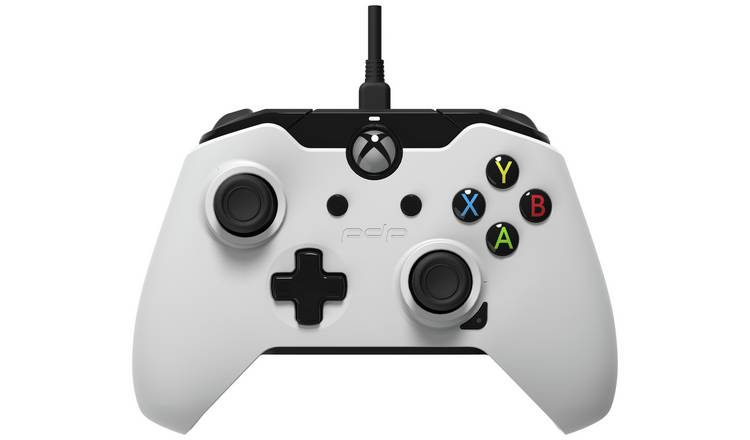 PDP Xbox One Licensed Wired Controller - Black & White