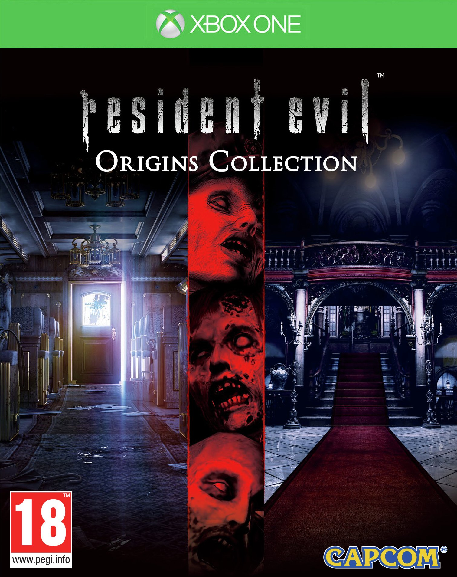 Image of Resident Evil Origins Collection Xbox One Game.