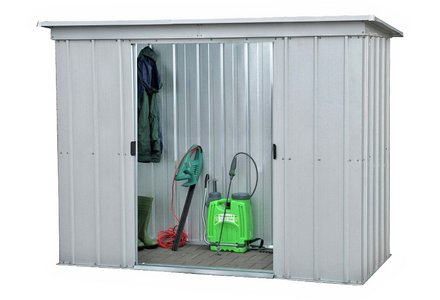 Image of the Yardmaster Metal Garden Shed - 6 x 4ft.