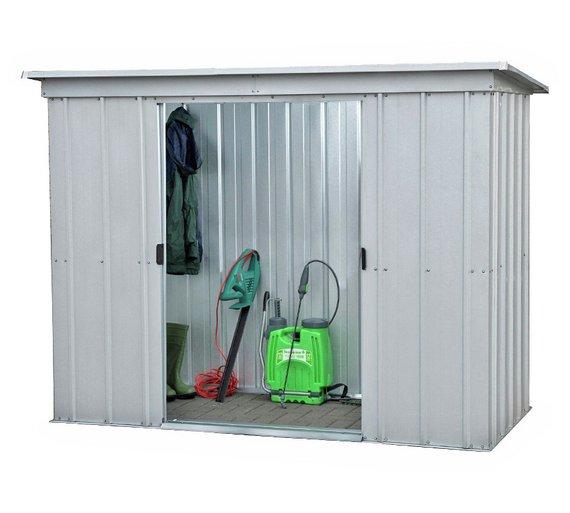 yardmaster metal garden shed 6 x 4ft - Garden Sheds 6 X 2