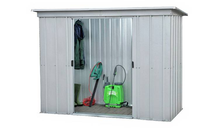 Yardmaster Metal Garden Shed - 6 x 4ft