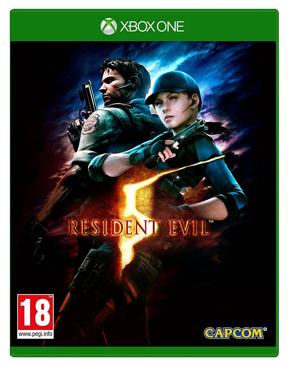 Image of Resident Evil Xbox One Game.