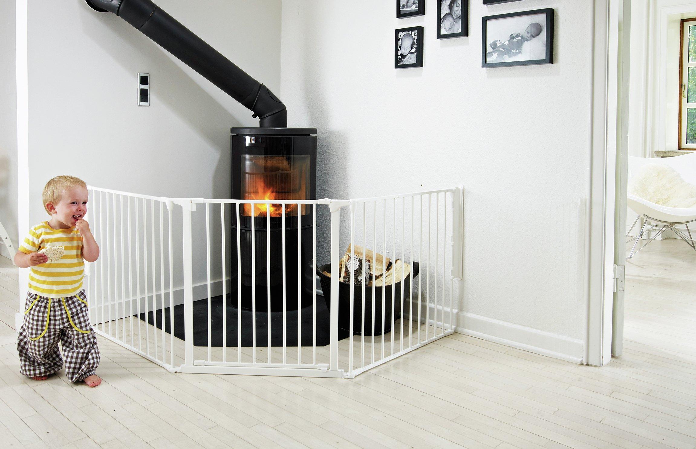 BabyDan Configure Large Gate - White