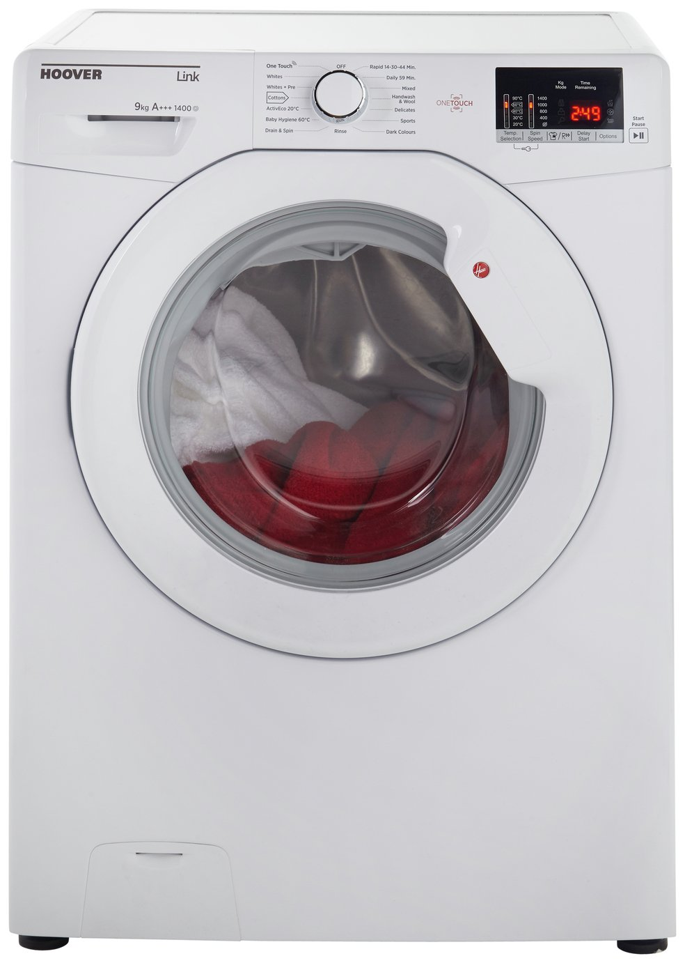 Hoover One Touch HL1492D3 Washing Machine - White.