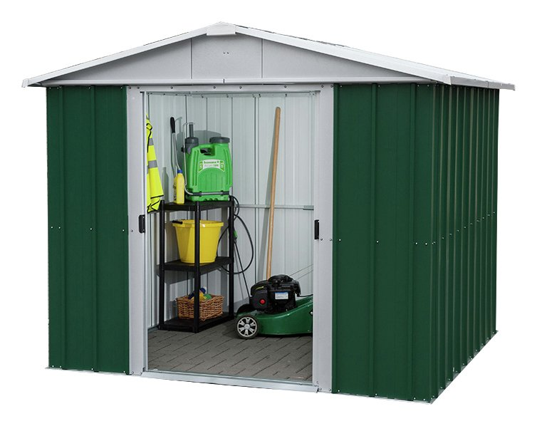 Image of Yardmaster - 8 x 6 Metal Apex Shed