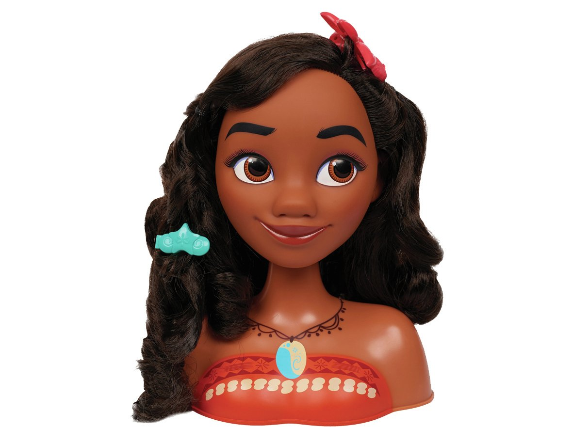 Disney Princess Moana Styling Head Assortment