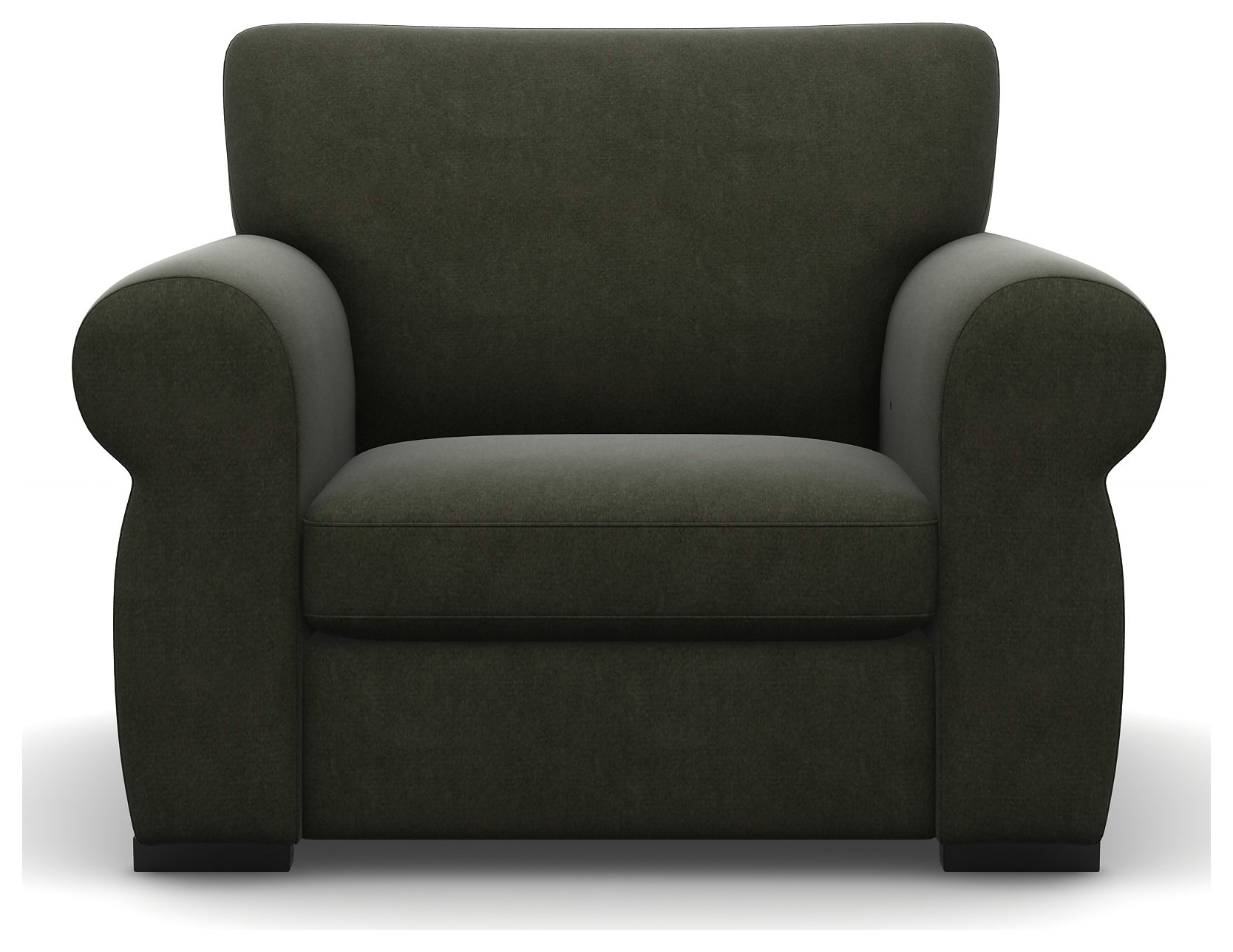 Heart of House Chloe Fabric Chair - Slate.
