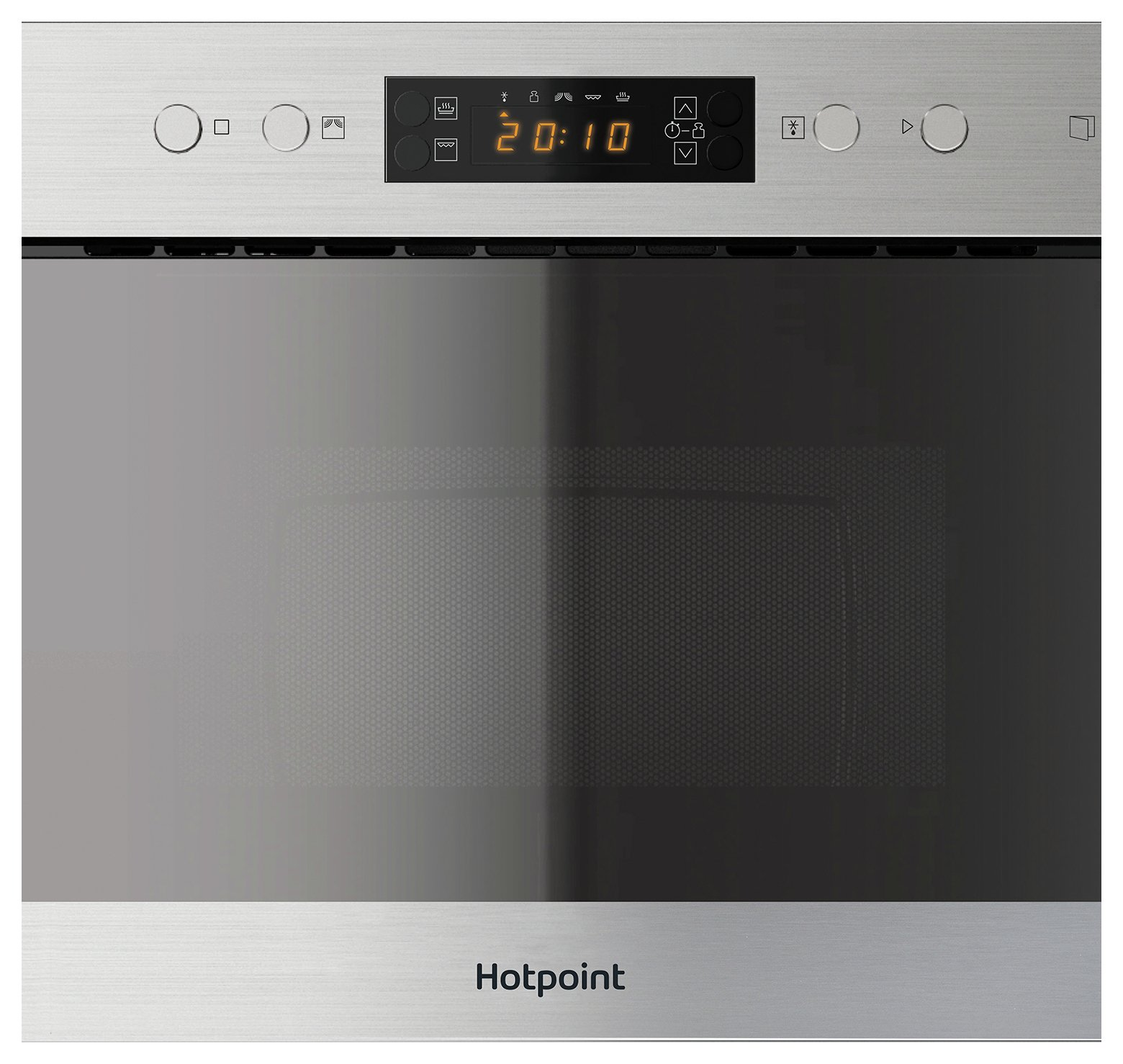 Hotpoint MN314IXH Built-in Microwave - Stainless Steel.