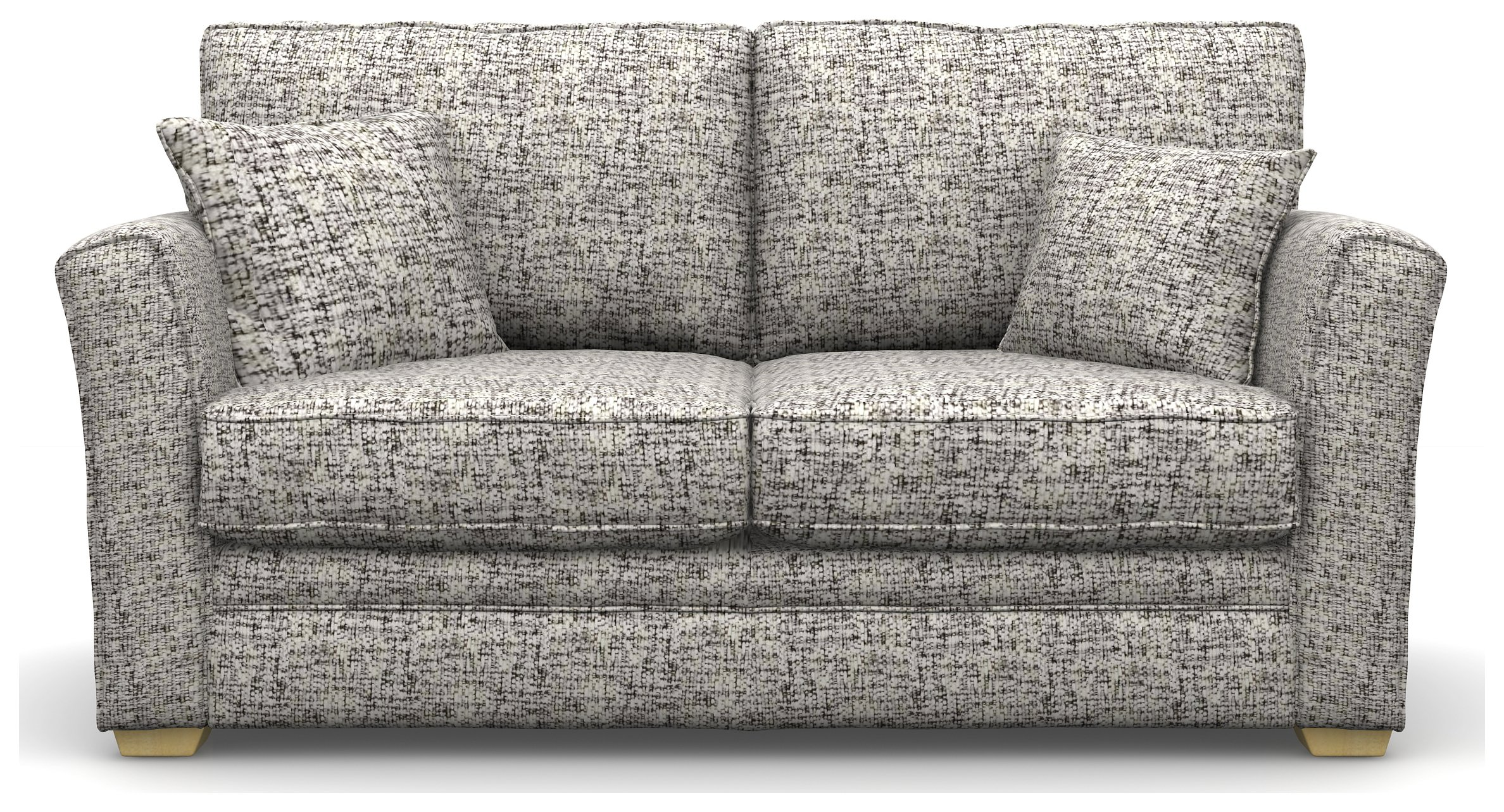 Create your own Heart of House Malton 2 Seater Fabric Sofa Bed - Stone