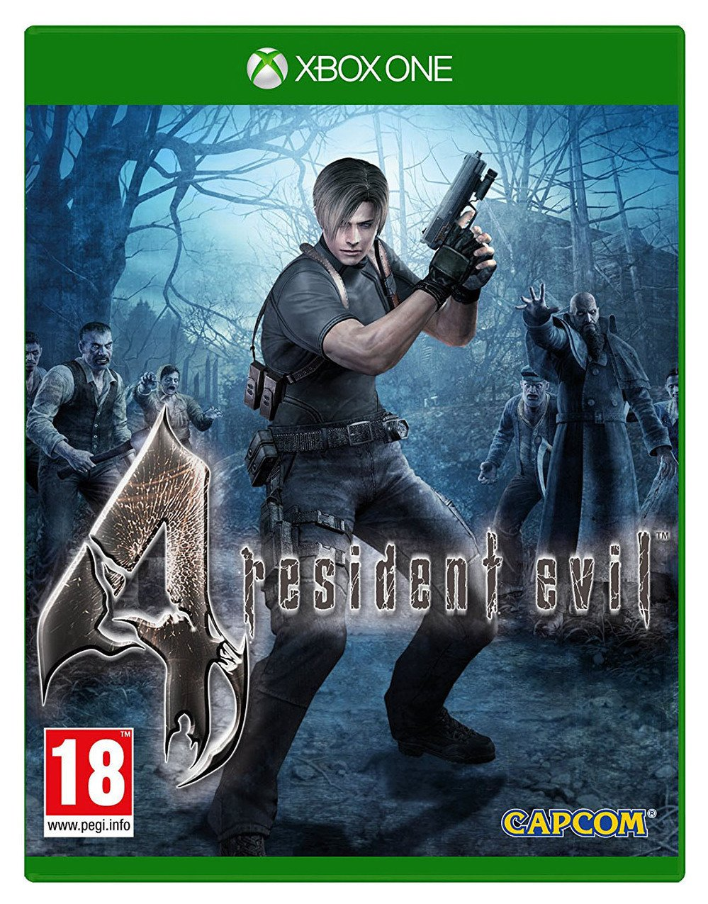 Image of Resident Evil 4 Xbox One Game.
