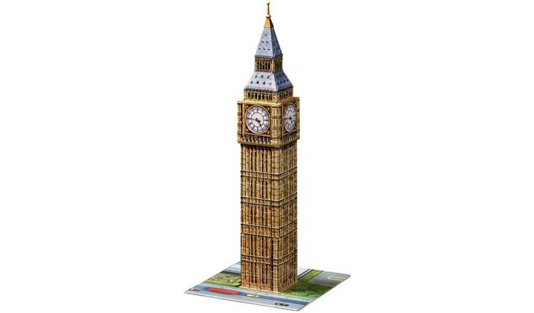 Buy Ravensburger Big Ben 216 Piece 3D Jigsaw Puzzle   Puzzles and jigsaws    Argos