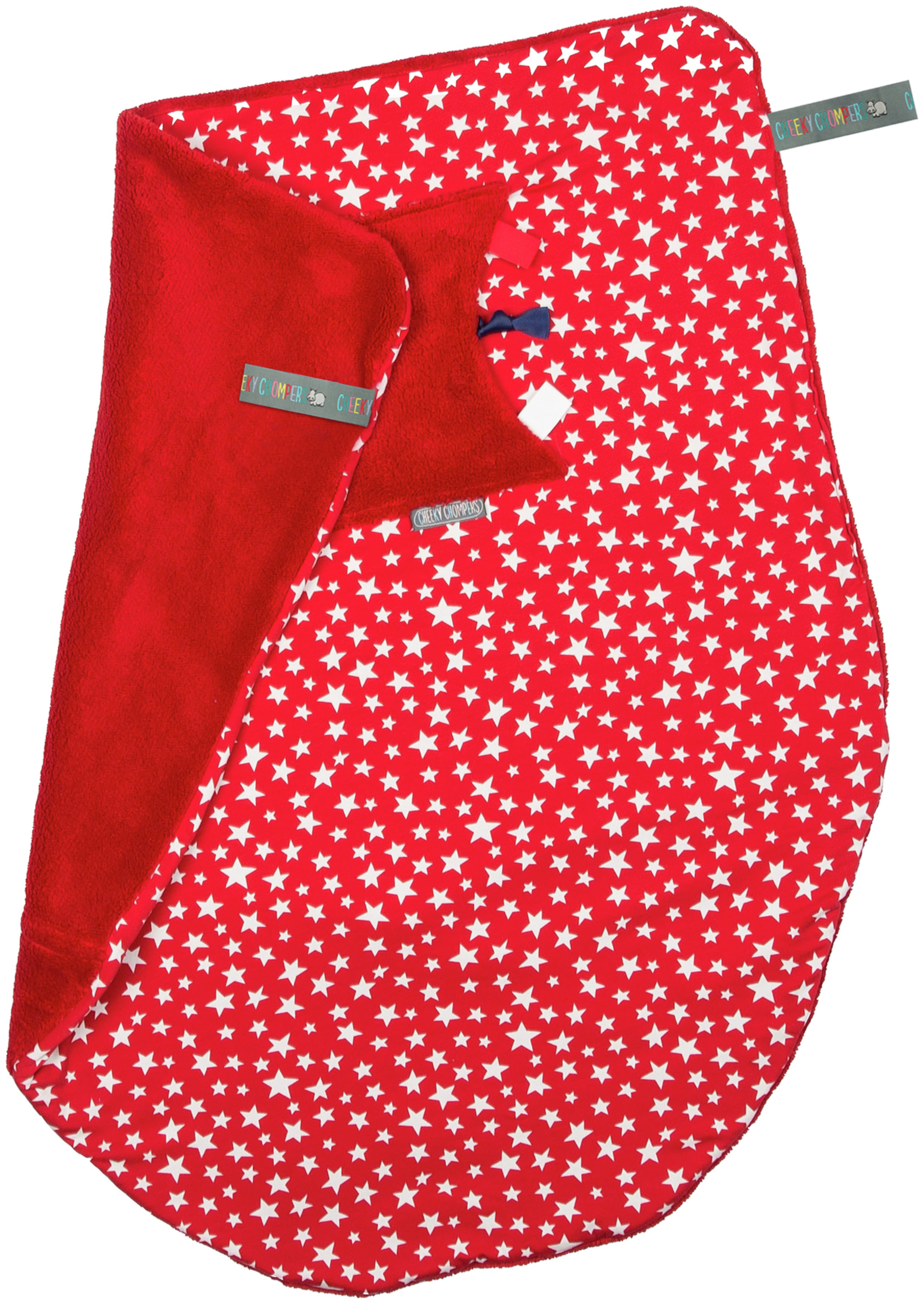 Image of Cheeky Blanket - Red Stars