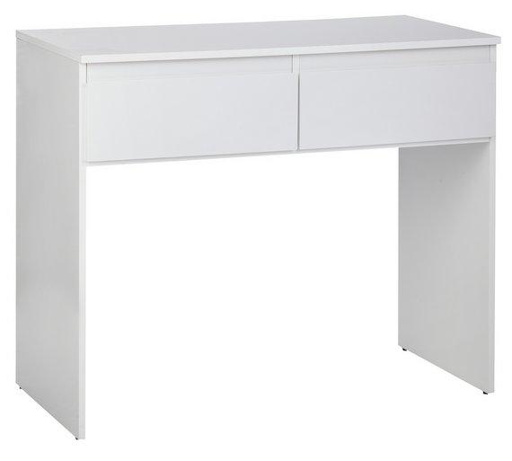 Buy Hygena Larvik Dressing Table White Gloss At Argoscouk - White dressing table argos